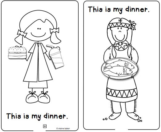 Living In The Past And Present Reader Then And Now Kindergarten Social Studies Thanksgiving Literacy Activities Fall Kindergarten