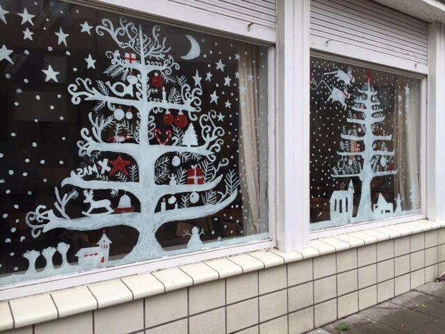 Kerstraam Decoratie 1b Kerst Kerst Ramen Kerstraam