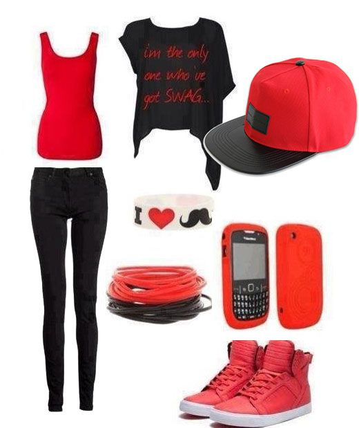 1000  images about Red and Black outfits on Pinterest - Red ...