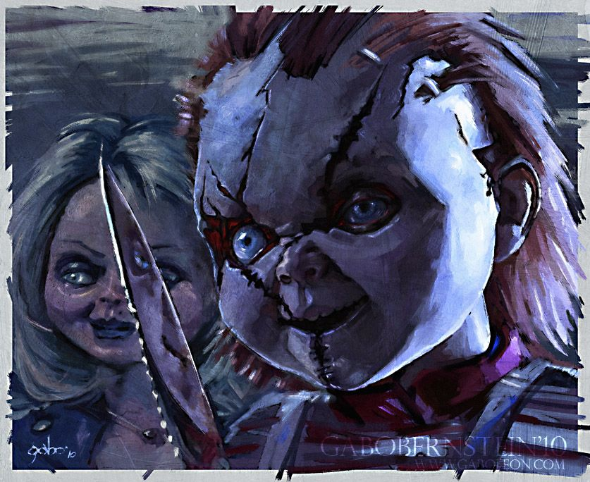 Chucky and Tiffany | Movie Monsters, Creatures, Villains ...
