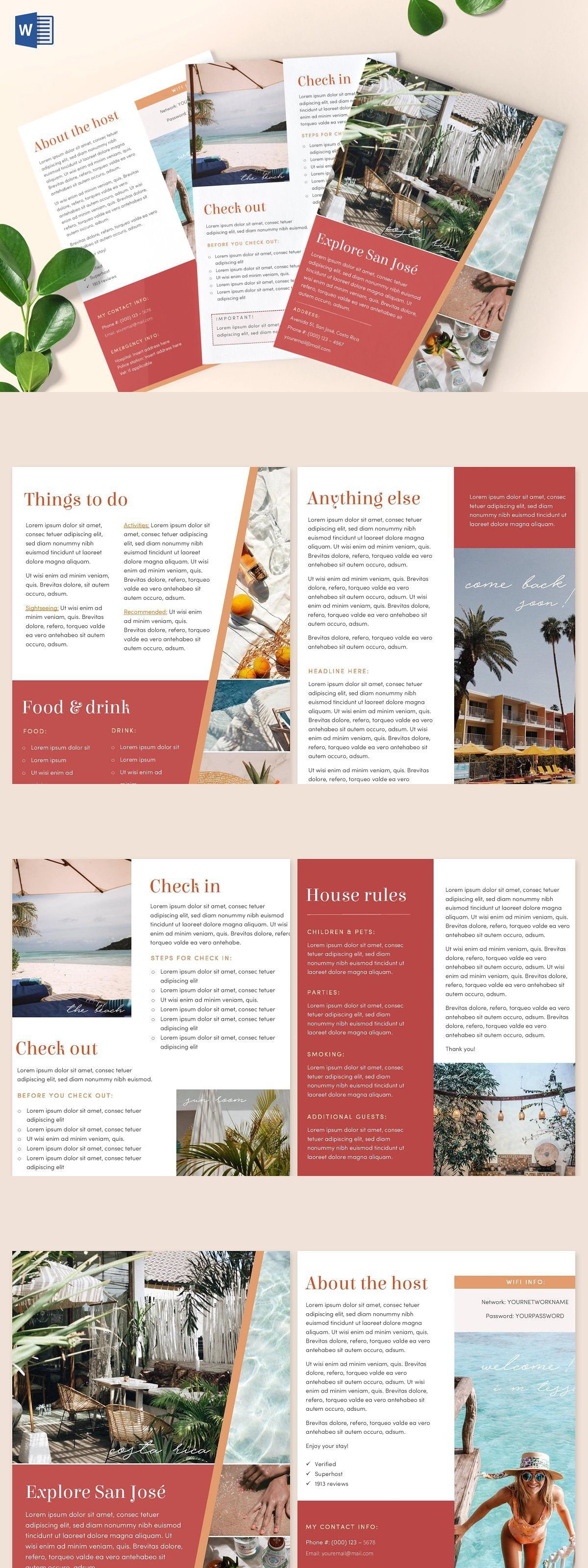 18++ Welcome letter template for airbnb trends