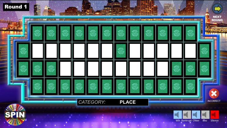 Wheel Of Fortune Powerpoint Game Wheel Of Fortune Game Wheel Of