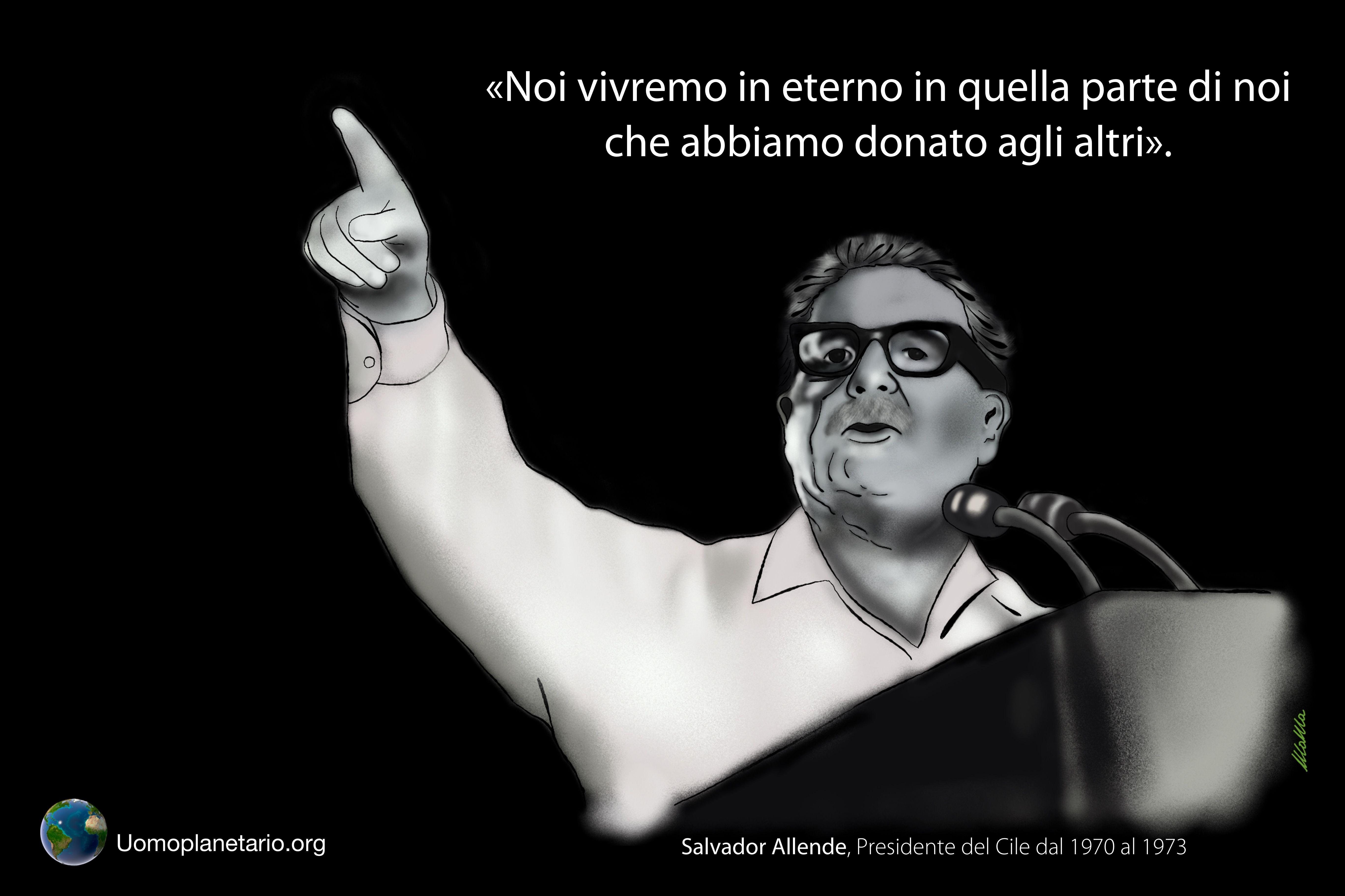 Salvador Allende: Il valore del dono