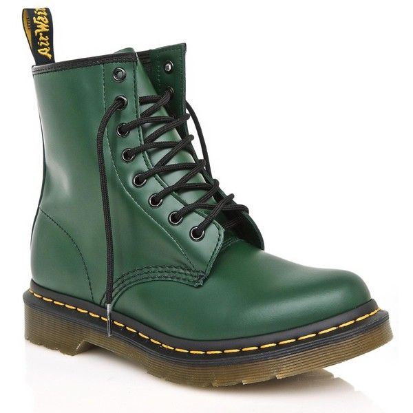 Dr. Martens Forest 1460 8 Eye Boots (€93) ❤ liked on Polyvore ...