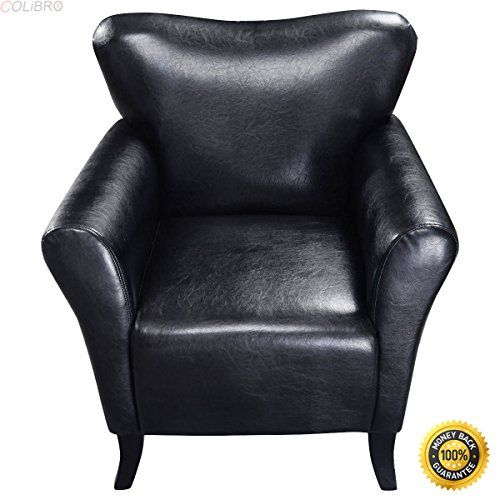 Big Sofa Anthrazit Colibrox--new Modern Pu Leather Leisure Arm Chair Single