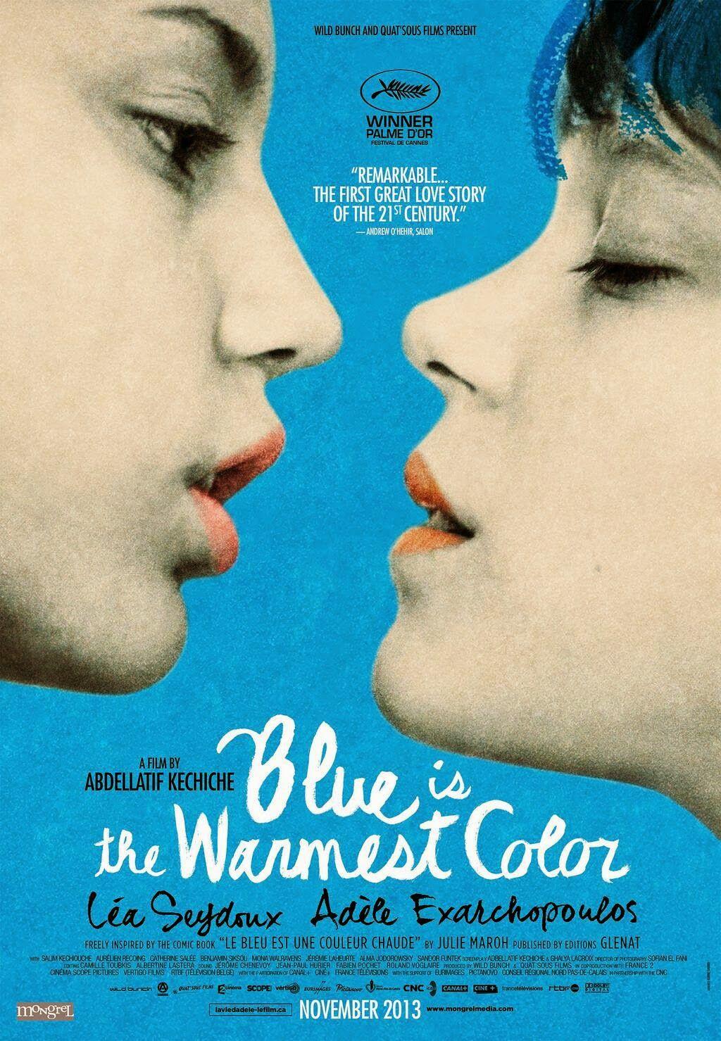 Blue Is The Warmest Color La Vie D Adele Romantische Filme Warmer Farbton Sehenswerte Filme