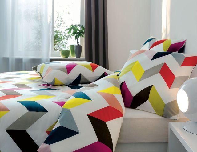 Parure De Lit Origami 80 Polyester Et 20 Coton Housse De Couette