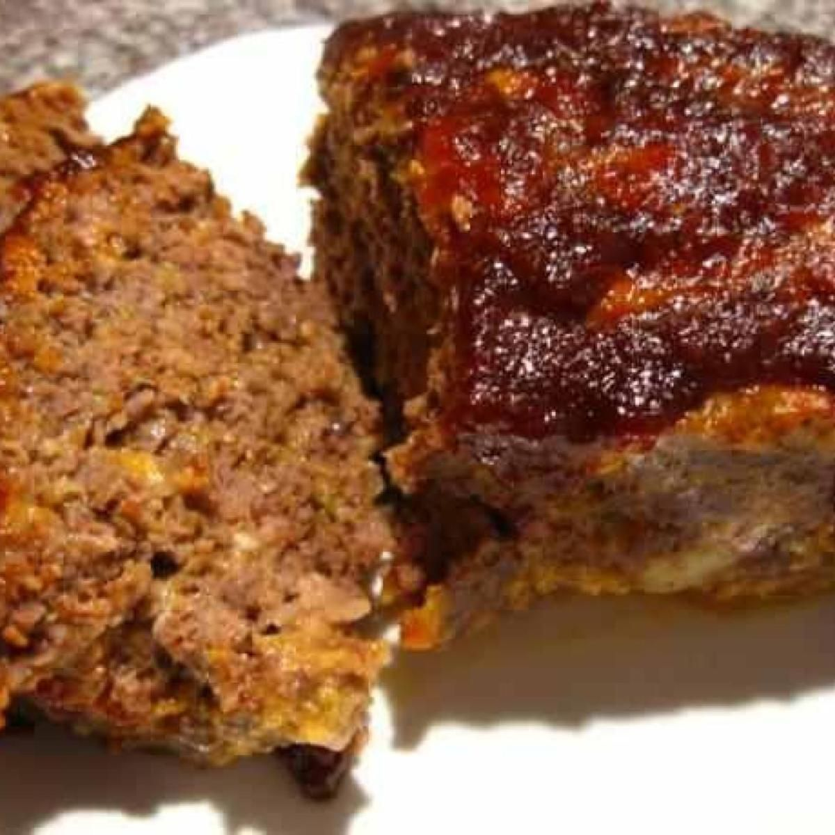 Check out Bacon Cheddar Meatloaf. It's so easy to make ...