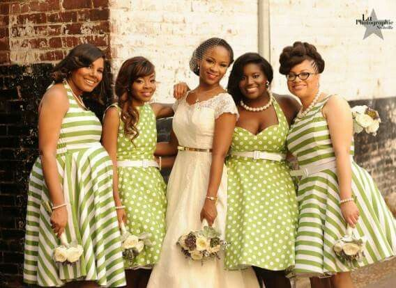 Her Girls The Contrasting Prints Are Cute Pretty Wedding