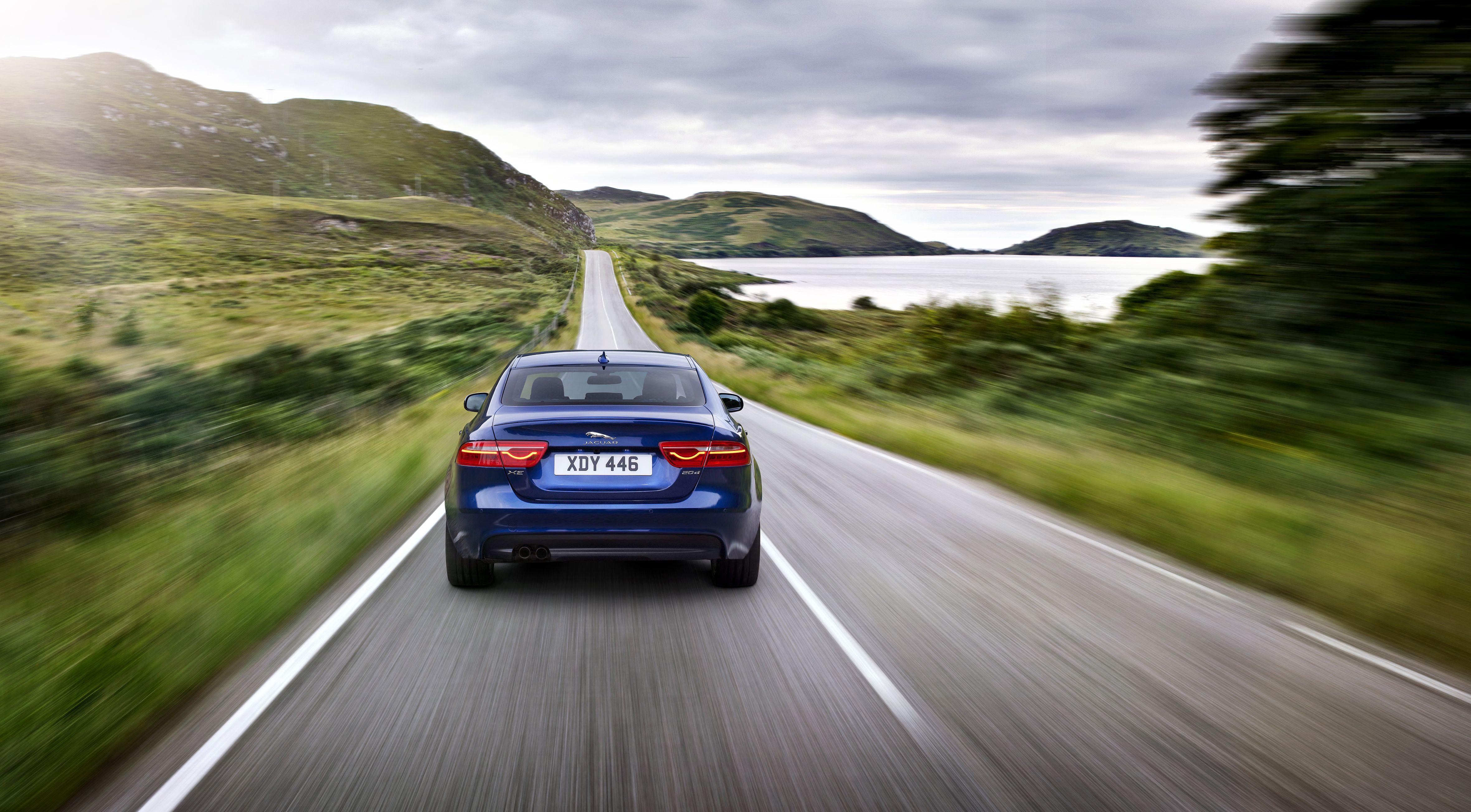 Wallpapers Jaguar S Type Sports Car Road Personal Luxury Car Sportscar Fotografii Galereya