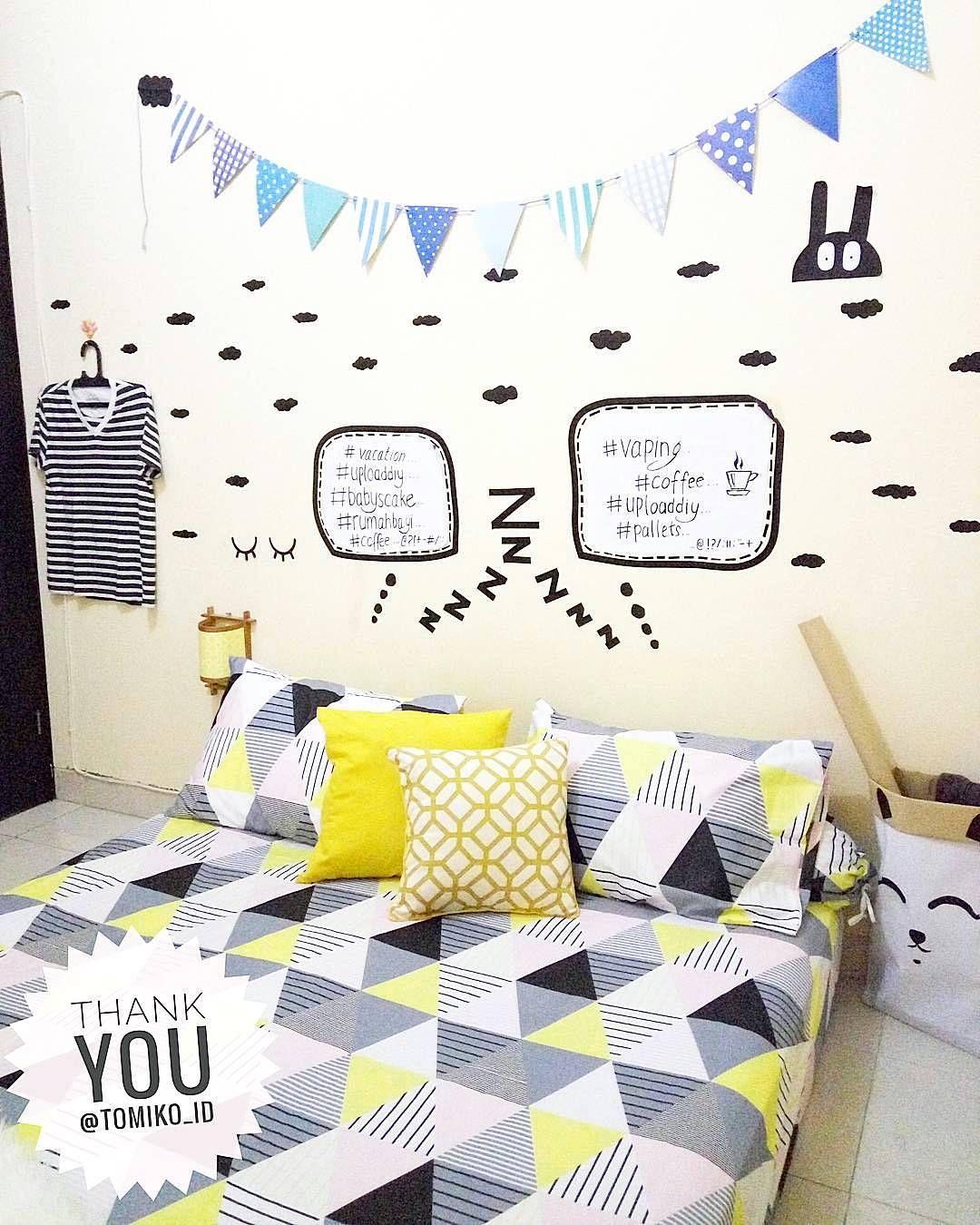 Dekorasi Dinding Kamar Tidur Terbaru Lagi N Ren