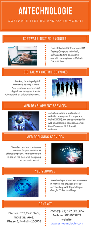 Web Designing Company in Mohali Antechnologie is Best