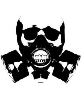 Skull Gas Mask Bones Clip Art Gas Mask Evil Art Gas Mask Tattoo