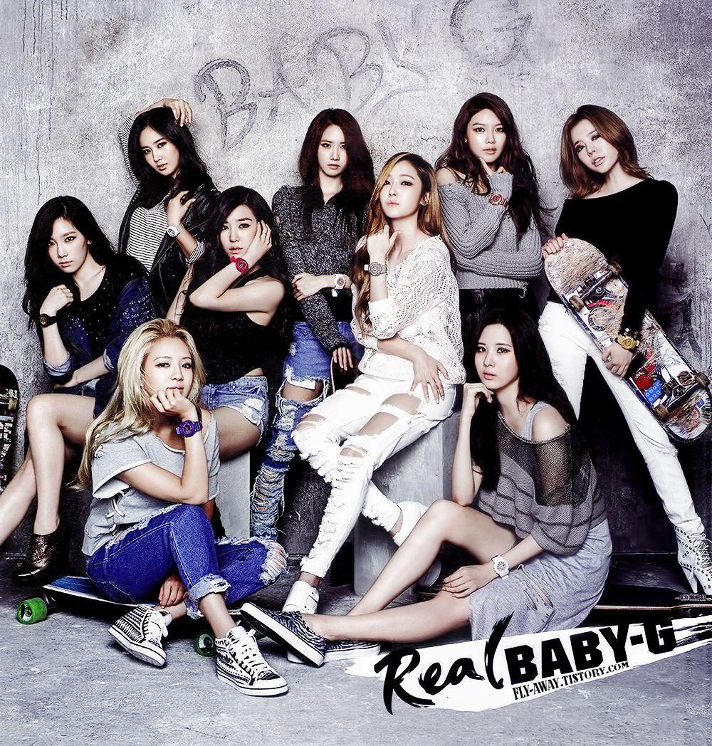 Girls Generation For Baby G Girls Generation Girls Generation Taeyeon Snsd