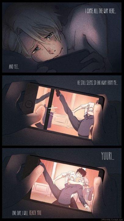 Yaoi comics! - Victor x Yuri