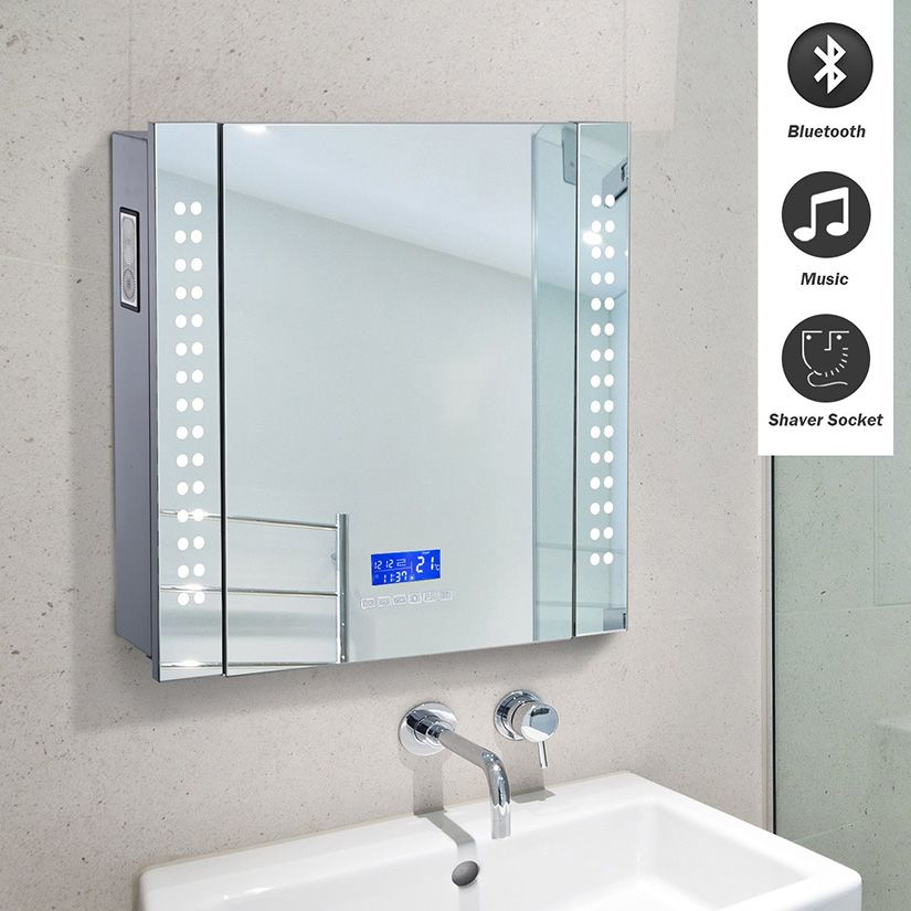 High Tech Twists For Your Home S Bathroom Bathroom Mirror