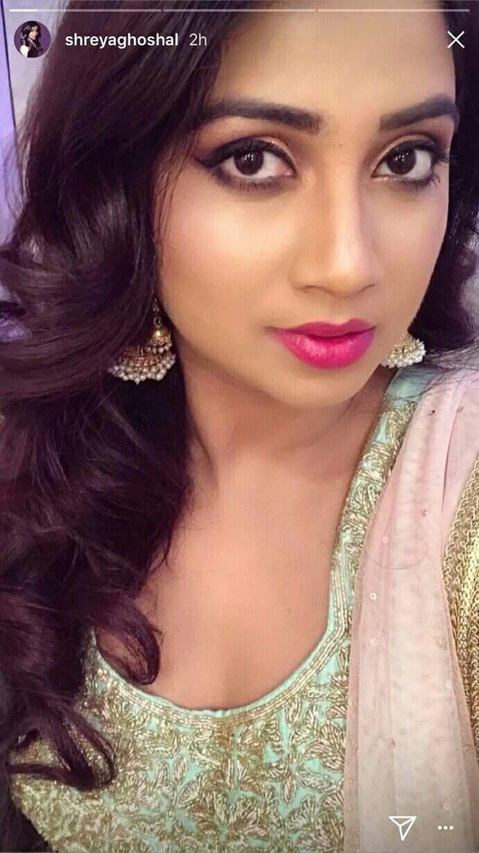 Beautiful Indian Singer Shreya Ghoshal Unseen Photos   CineHub