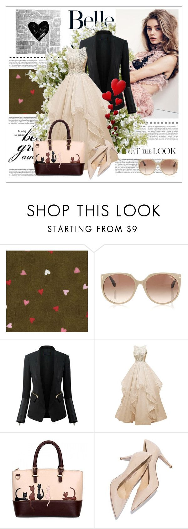 """""""get the look"""" by smile-2528 ❤ liked on Polyvore featuring Tom Ford, Chicsense, New Growth Designs, women's clothing, women's fashion, women, female, woman, misses and juniors"""