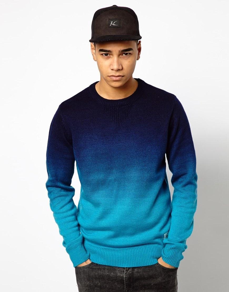 Bellfield bellfield maglia dip dye su asos shirts for Mens dip dye shirt