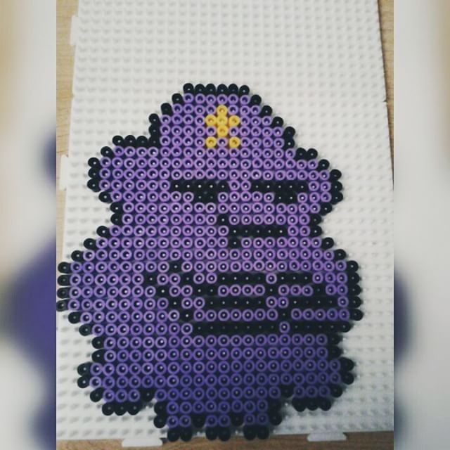 Lumpy Space Princess - Adventure Time perler beads by mirisaur
