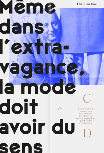©les graphiquants - Christian Dior - #graphic #design #layout #poster #Dior #font #type #unquotedsheets