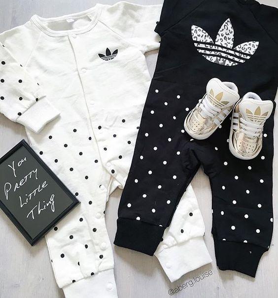 Credit: @aberg.louise baby adidas | abitini bimba | Vestiti ...
