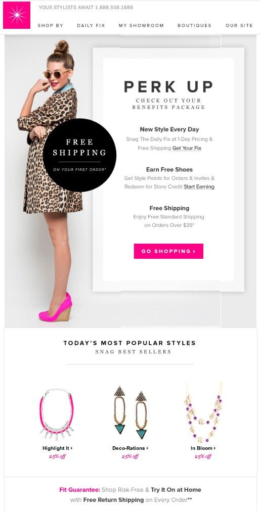 Sample Email Marketing Design For Online Shops  Email Marketing