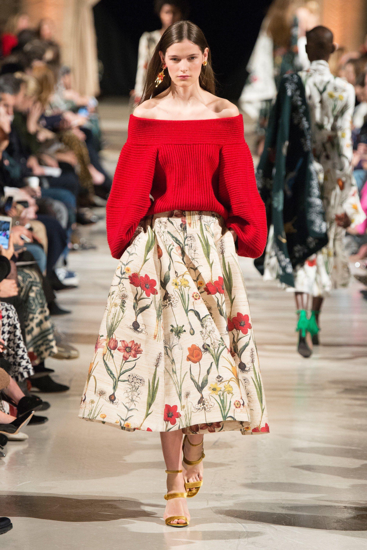 1a1b438cf35 Oscar de la Renta Fall 2018 Ready-to-Wear Fashion Show in 2019 ...