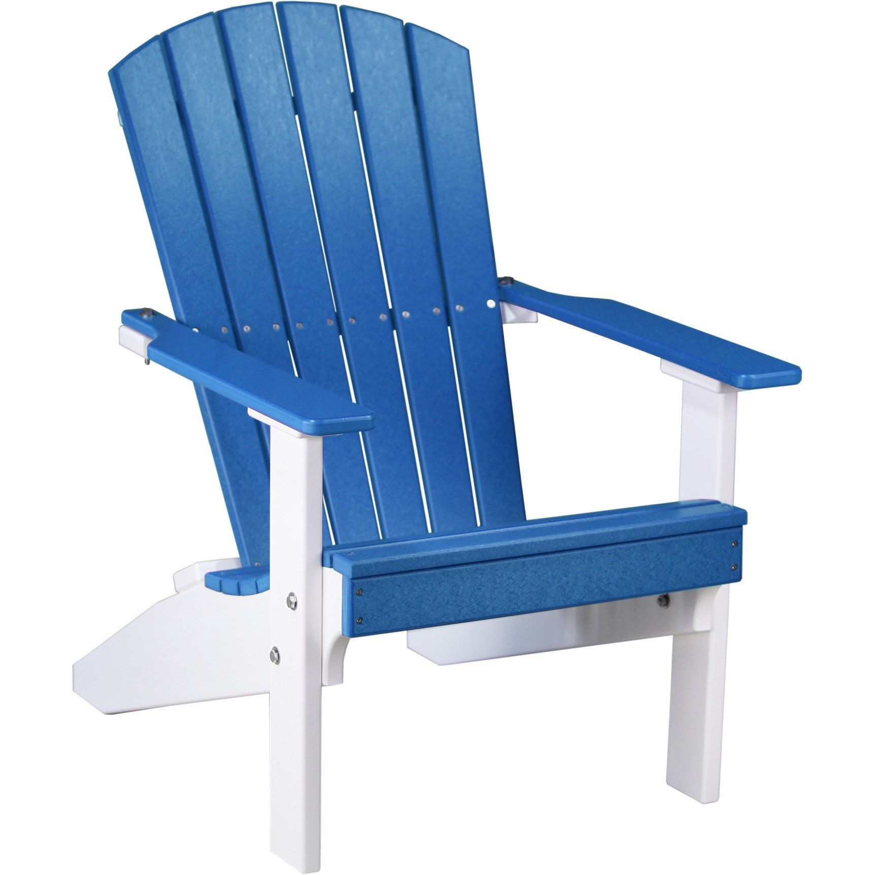 LuxCraft Recycled Plastic Lakeside Adirondack Chair