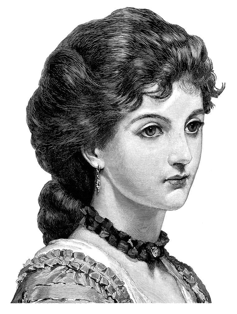 Victorian Woman | Beauty, Vintage images, Vintage printsVictorian Woman Portrait