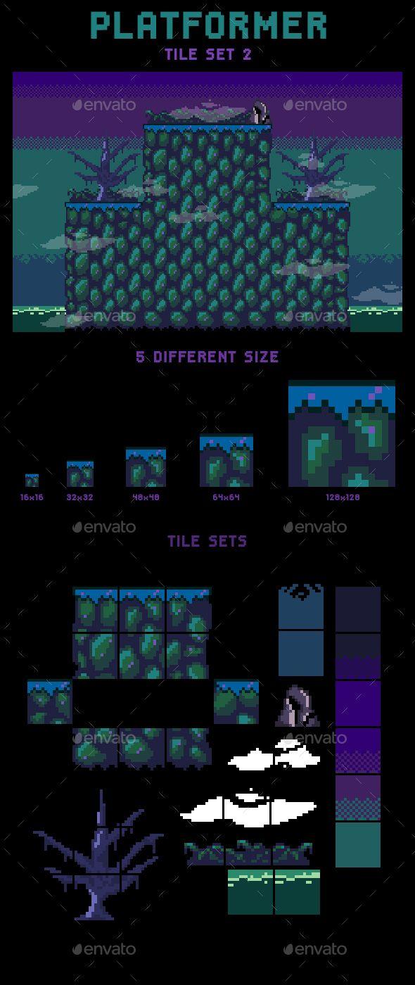 tile set for platform base game without slope you can easily build