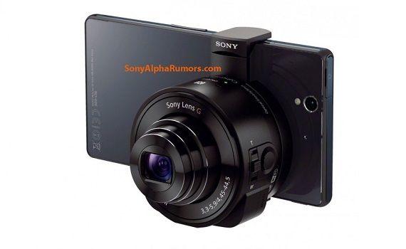 Lentes de cámara, el nuevo accesorio de Sony para los Smartphones