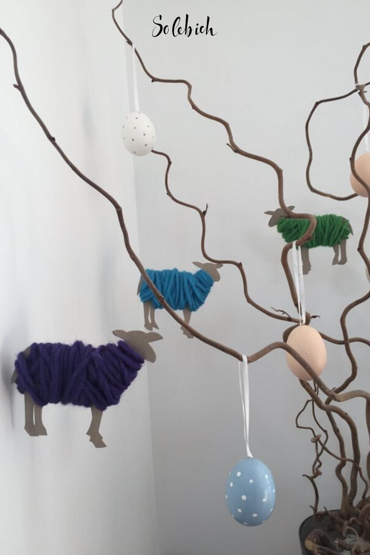 Photo of DIY für Kinder – Wickeln Sie Pappschafe mit Wolle