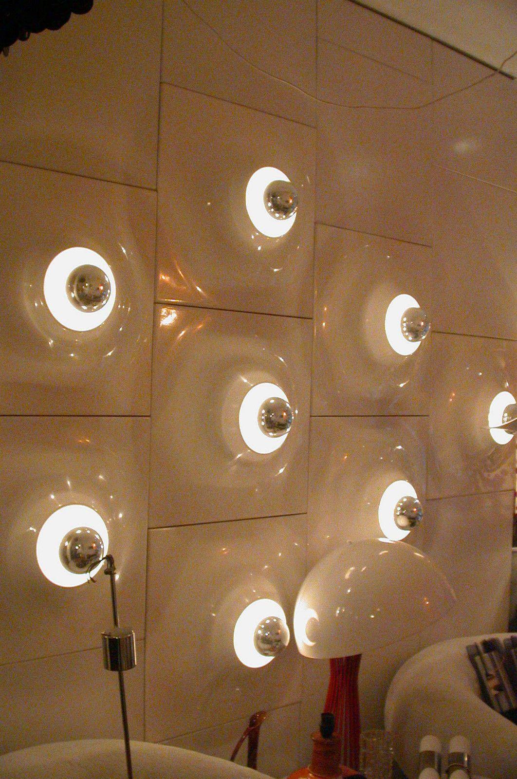 9 Lumo E Age Wall Panels Designed By Delta Dimension Verner Panton Style Ebay Futuristic