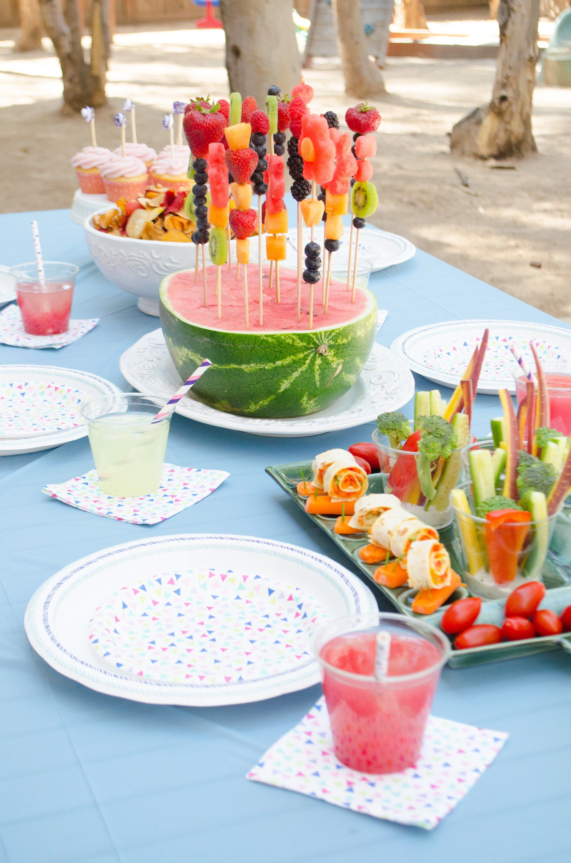 Garden Party Menu From Chefsarahelizabeth Com With Images Kids