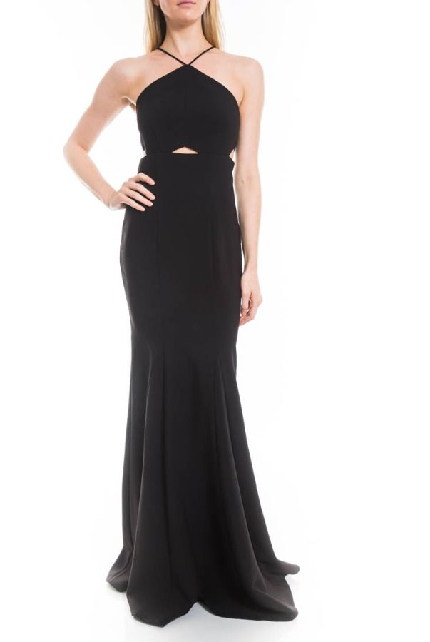 Likely Black Harper Cutout Evening Gown Prom dress   Poshare Harper ...
