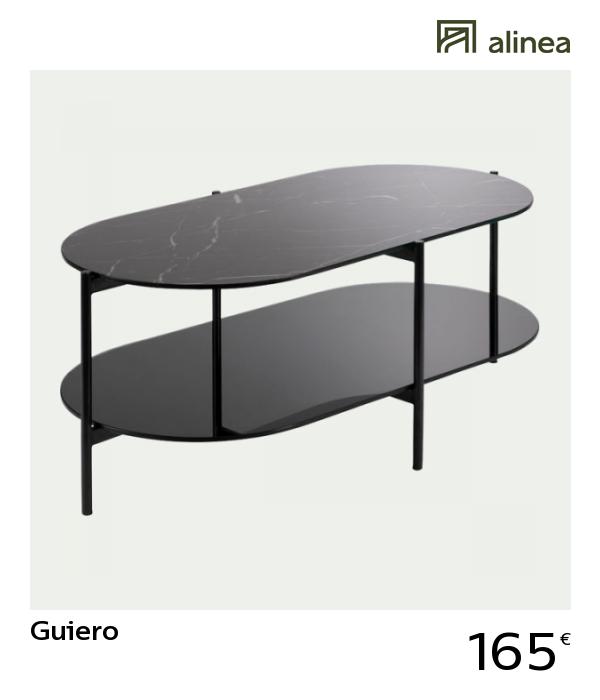 Alinea Guiero Table Basse Ovale En Verre Effet Marbre Noir Meubles Salon Tables Basses Et D Appoi Table Basse Ovale En Verre Table Basse Ovale Table Basse