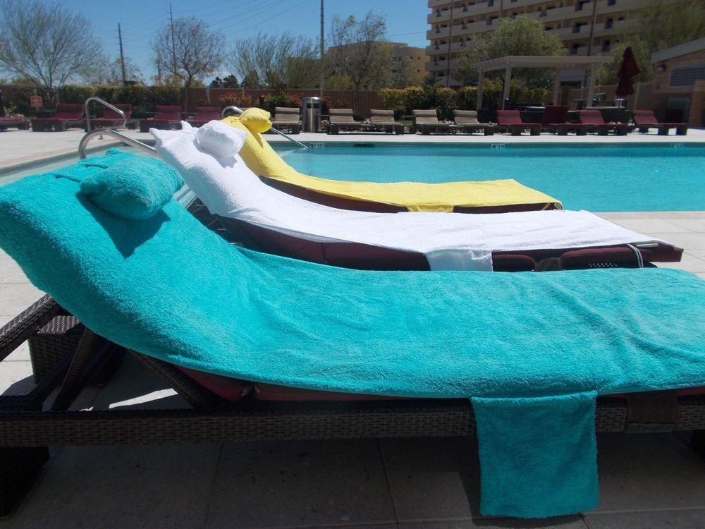 sun lounge chair cover towelhead pillowtwo pockets