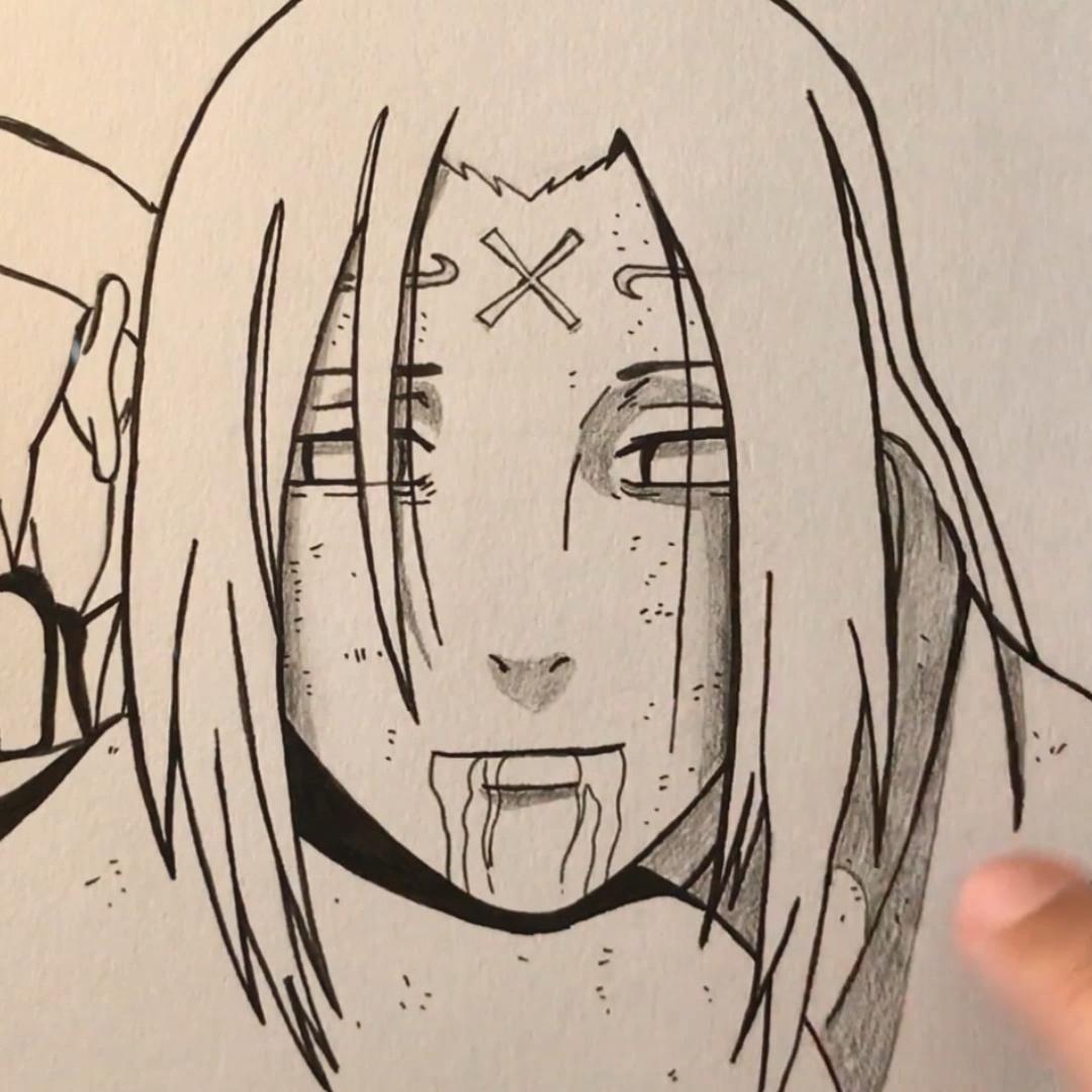 Comment dessiner facilement Neji Hyûga | NARUTO SHIPPUDEN | Dessin pour débutant