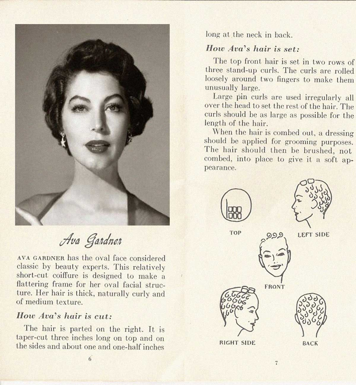 10 hollywood hairstyles of the 50s | 1950s dress in 2019