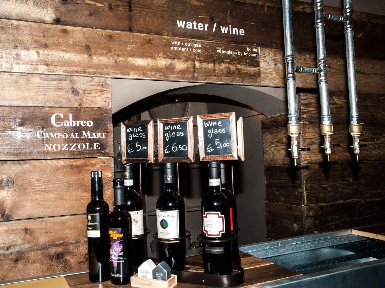 Water wine