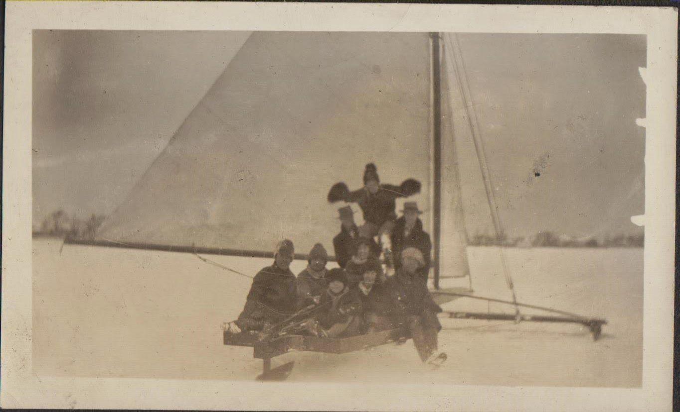 My Moynahan Genealogy Blog: 52 Ancestors #44: Ice Boating in Windsor, Ontario