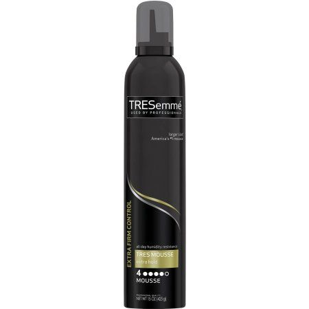 Tresemme Tres Two Extra Hold Hair Styling Hair Mousse 15 Oz Walmart Com Hair Mousse Styling Mousse Tresemme Shampoo