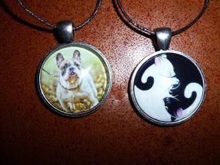 Kedy kreatív termékek: Kutyus nyaklánc és Ying Yang cica nyaklánc