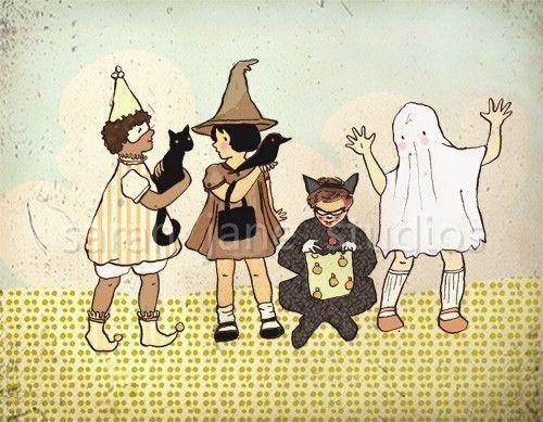 You Spook Me  - Kids Halloween Room Decor. $26.00, via Etsy.