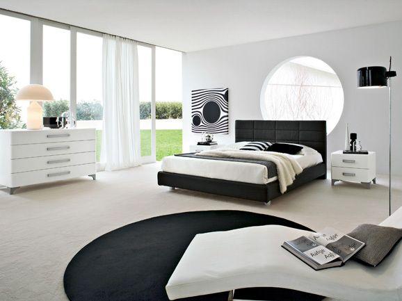 Camera da letto moderna modern bedroom decoracion for Letto minimalista