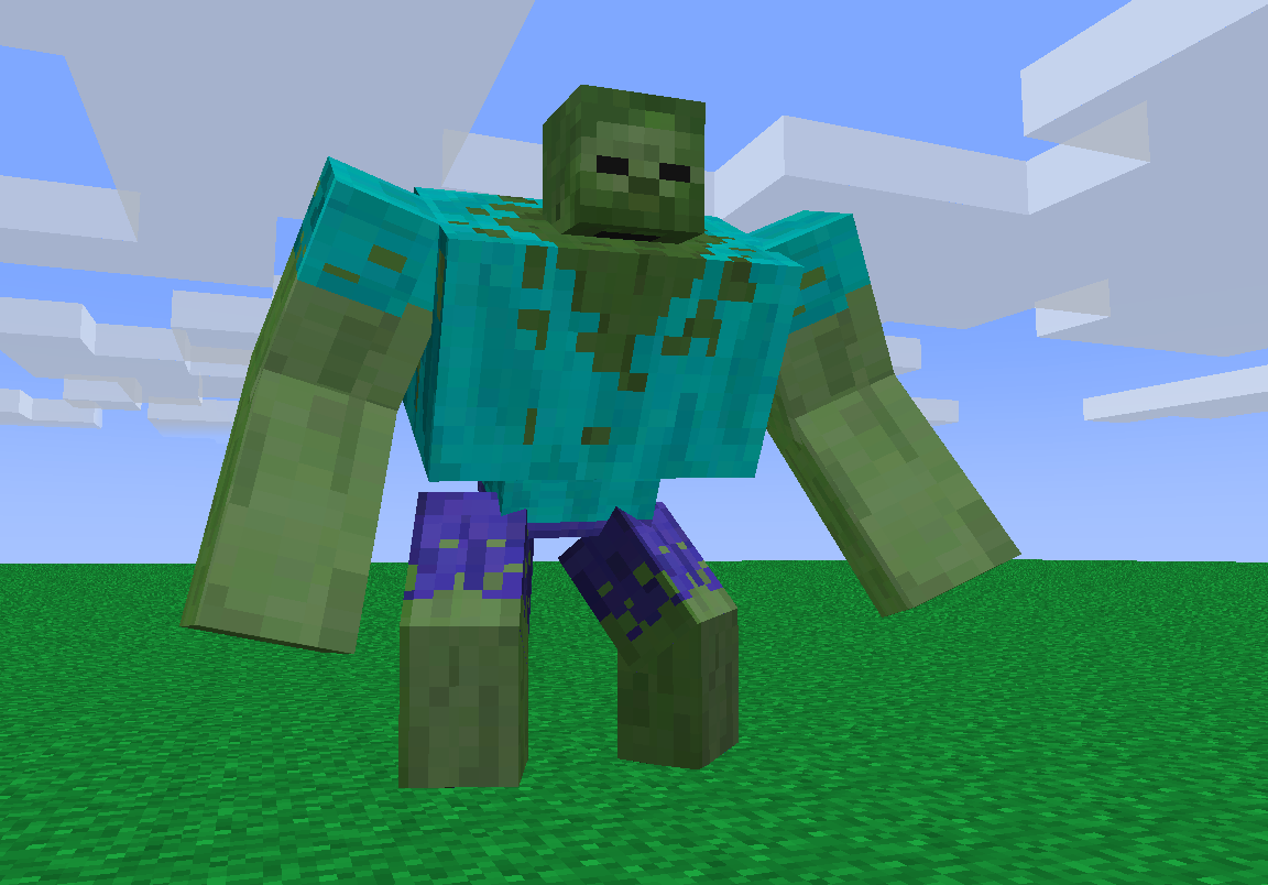 minecraft mutant zombie - Google Search | Minecraft, Mutant ...