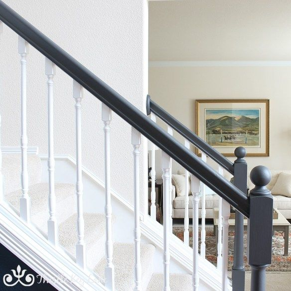 Painted Stairs, Staircase Design, Foyer