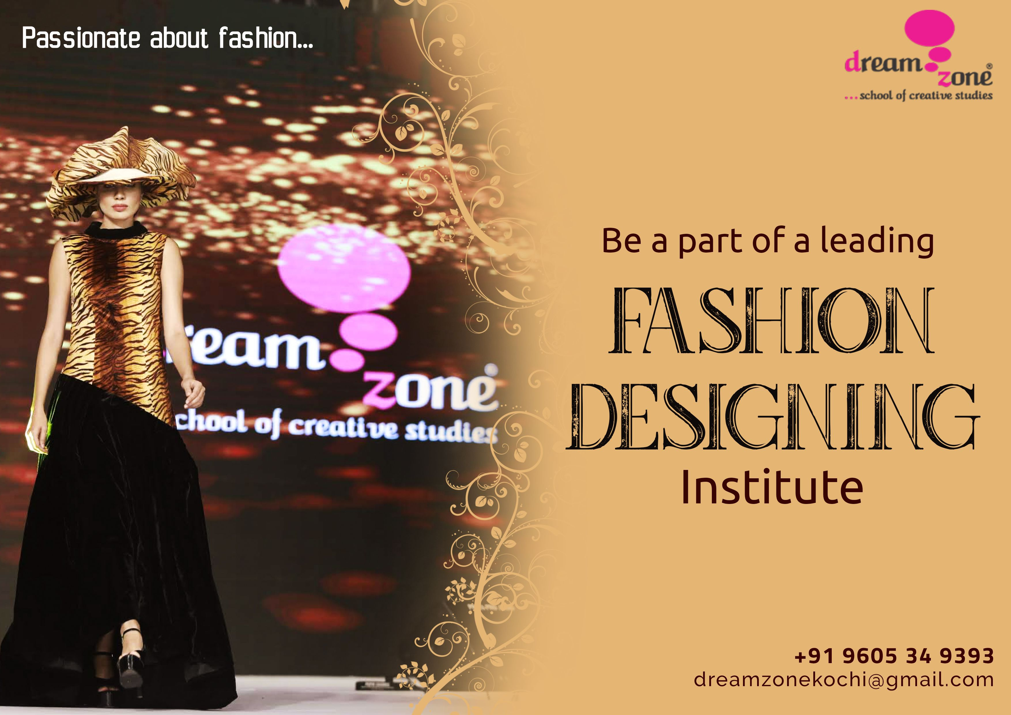 Build A Career In Fashion Designing From Dreamzone We Train Future Professionals To Create Original Career In Fashion Designing Graphic Design Course Design