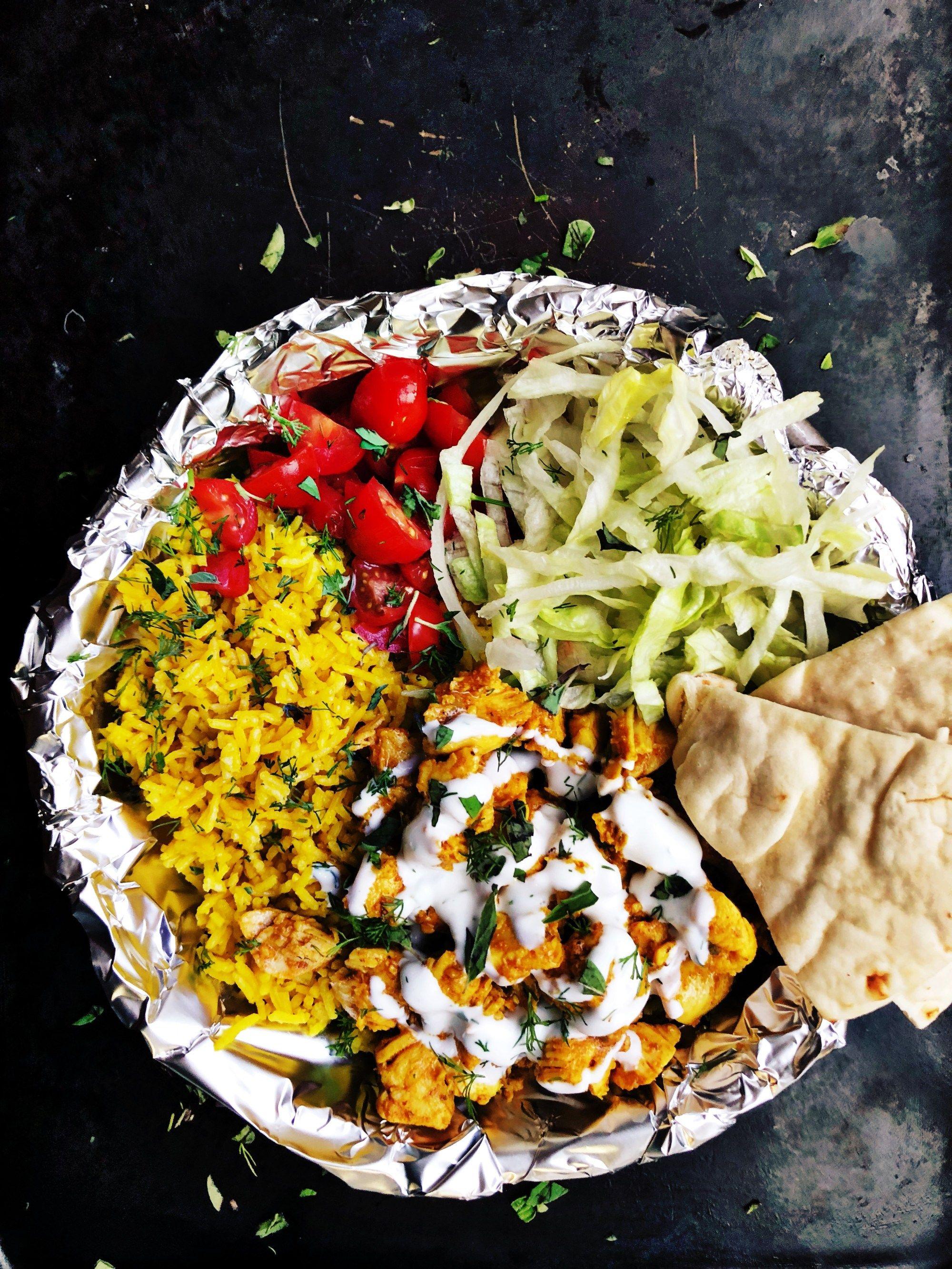 Halal style street food plum street collective recipe